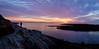Sunrise at Lands End (BernieErnieJr) Tags: landsend baileysisland maine cascobay ocean atlanticocean sea sonya9 sony1018mm greatphotographers teamsony bernie duhamel shore sunrise clouds sun sunshine rays