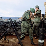 Ben Het 1969 - Soldiers wait for an explosive to fire thumbnail