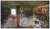 In The Jailhouse (daveelmore) Tags: jailhouse interior room walls window graffiti stitchedpanorama panorama lumixleicadgsummilux25mm114