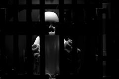 Ghostly Presence (linda_lou2) Tags: odc scavengerhuntorhaunted haunted ghost scary lego minifigure minifig legominifigure halloween macro 60mm 117picturesin2017 themeno107 fearsomescary