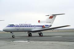 CCCP-87662 Yakovlev Yak-40 Aeroflot (pslg05896) Tags: akx uatt aktyubinsk aktobe kazakhstan cccp87662 yakovlev yak40 aeroflot
