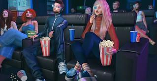 📷     Movie night.