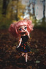 Happy Halloween ! (Naekolyset) Tags: pullip dal daldoll doll dolls dalmaretti angelicpretty junplanning groove toy sparkles shoes redhead ginger child nature green curlyhair eyebrows ooak makeup shorts path sun bokeh halloween portrait toys forest woods leaves autumn