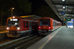 474 035 und 474 109, Hamburg Bergedorf (elbjens) Tags: sbahn 474035 474109 bergedorf 042017