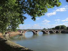 Pont Neuf, Garonne at Quai de la Daurade, Toulouse, France (Paul McClure DC) Tags: toulouse france languedoc occitanie occitania july2017 architecture historic river garonne scenery