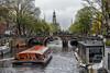Prinsengracht en Westertoren (johan wieland) Tags: amsterdam westertoren lovers downtown binnenstad jordaan nederland netherlands holland roundtrip cityscape