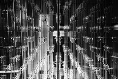 Tubes (elgunto) Tags: museum cosmocaixa barcelona catalunya abstract perspective tubes blackwhite bw monochrome sonya7 sonydt55300 laea3