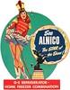 1950 GE Refrigerator - Home Freezer advertisement (Tom Simpson) Tags: ge refrigerator vintage ad ads advertising advertisement circus pinup pinupart woman girl 1950 1950s