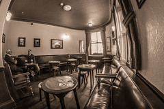 Colpitts hotel pub Durham City. (CWhatPhotos) Tags: cwhatphotos colpitts hotel pub durham city sepia bar room olympus omd em10 digital camera photographs photograph pics pictures pic picture image images foto fotos photography artistic that have which with contain