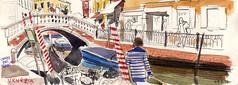 171004venezia02 (Vincent Desplanche) Tags: venise venezia sketching sketch croquis urbansketchers italia italy aquarelle watercolor matiteinviaggio seawhiteofbrighton seawhitesketchbook