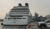 Pier 27 Seabourn Sojourn 10-2017 (daver6sf@yahoo.com) Tags: portofsanfrancisco p27 cruiseship sanfranciscobay pier27 seabournsojourn transamericanbuilding