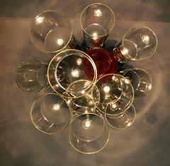 (320fds) Tags: illuminated nightlife lighting light dusk abstract candle circle shiny glitter shining bokeh restaurant hotel cafe