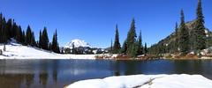 Upper Tipsoo Lake, Chinook Pass (jlcummins - Washington State) Tags: mountrainiernationalpark chinookpass washingtonstate lewiscounty mountain snow tipsoolake landscape