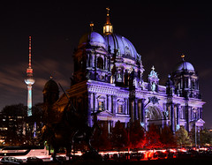Berliner Dom Festival of Lights 2017