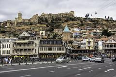 Tbilisi, fortress Narikala (the last don) Tags: tbilisi georgiaeurope fortress
