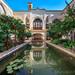 Traditional Persian Courtyard, Iranian House Hotel, Kashan, Iran