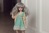 Mint.. (Plume Blanche Créations) Tags: plumeblanchecréations plumeblanche clothesbjd skinnyjeans top vest dollclothing mnf minifee rheia bjd balljointeddoll doll resin dress