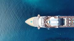 MSC Cruise Ship entering the Port of Nassau, Bahamas (Daniel Piraino) Tags: eyeemselects water cruiseship dronephotography nassau bahamas horizonoverwater traveldestinations aerialshot aerialphotography aerialview nopeople