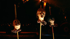 3 severed amigos (summeradamowicz) Tags: halloween spooky hayride haunted heads losangeles griffithpark bloody canon