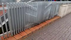 Imaginative Metallic Barrier (unclebobjim) Tags: lille metallic barrier imaginative