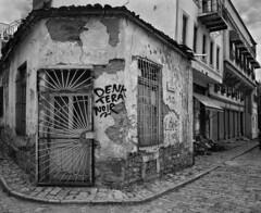 Denk Tera Noir - Korçë Albania (wjshawiii) Tags: albania korca korçë mitropolia streetscenes graffiti qarkuikorçës al
