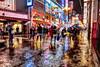 rainy day, Dotonbori, Osaka (jtabn99) Tags: rain dotonbori osaka japan nippon nihon 20171021 nanba reflection light 道頓堀 難波 雨 夜 ネオン 色彩