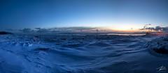 6h AM (JPLapointe) Tags: ice fleuvestlaurent iledorlean leverdesoleil sunset quebec canada