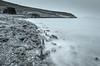 Brink (Darío Alves) Tags: blancoynegro blackandwhite paisaje landscape largaexposición longexposure mar sea playa beach