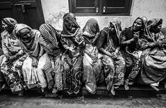 Lajja (Harshal Orawala) Tags: 121clicks india harshalorawala myindia holi street bnw blacknwhite feature