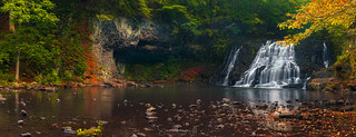 Wadsworth Falls Panorama
