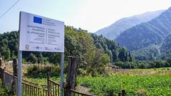 Plantacja ziemniaka we wiosce Zeskho. (Tomasz Bobrowski) Tags: wspinanie mountains gruzja kaukaz góry zeskhobasecamp zeskho caucasus georgia climbing