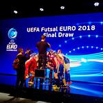 ˝Žive lutke˝ na žrebu skupin prihajajočega UEFA Futsal EURO 2018.