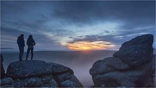 Sunset at Bonehill Rocks