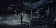 (ConnecteD\_) Tags: theevilwithin tangogameworks bethesdasoftworks screenshot outdoor survival horror night fog village alone