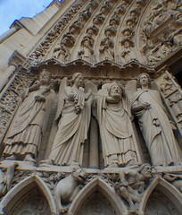 Paris (mademoisellelapiquante) Tags: paris france notredame cathedral architecture gothicarchitecture saintdenis stdenis angels