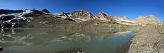 A lake where there was a glacier (supersky77) Tags: rhemes valdirhemes aosta valledaosta vallèedaoste lago lake alps alpi alpes alpen reflection riflesso glacier ghiacciaio moraine morena