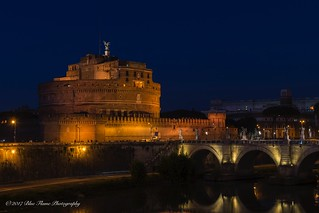 Castel Sant'Angelo (in the blue hour) ©