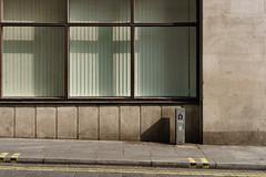 Swallow Street (cybertect) Tags: carlzeissplanart50mmf17 london londonw1 sonya7 swallowstreet w1 shadow stone wall window yellowline