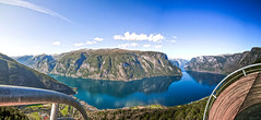 Stegastein Lookout (wheelcorner) Tags: stegastein lookout aurland norway norge norwegen water sea sky clouds mirror canon roadtrip 5d2 5dmk2 5d