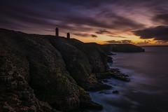 Sunset à Cap Frehel (Francois Le Rumeur) Tags: france brittany nikon d7100 bretagne sunset ocean falaise côte ciel sky cloud cloudy coucherdesoleil long exposure expo longue le cap frehel
