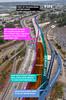 NB I-5 Port of Tacoma Road traffic shift Fall 2017 (WSDOT) Tags: cm hov puyallupriverbridge northboundi5 interstate5 tacoma fife portoftacoma