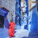 The Blue Pearl of Morocco. Chefchaouen.