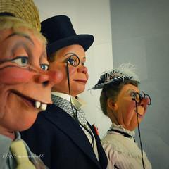 Snerd, McCarthy, and Klinker (ilovecoffeeyesido) Tags: museumofbroadcastcommunications mbc chicagoil edgarbergen charliemccarthy mortimersnerd effieklinker ventriloquism ventriloquistdummies