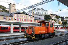 2017 | RhB Tm 2/2 112 te St. Moritz (Arno Verhagen) Tags: alvra tm22 rhb rhätischebahn stmoritz