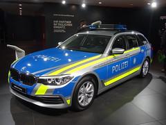 "IAA 2017: BMW 5er Touring ""Polizei"" (harry_nl) Tags: germany deutschland 2017 frankfurt iaa bmw 5er 5series touring polizei bayern"