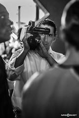 cameraman (NRG SHOT) Tags: cameraman blackandwhite biancoenero slavik camera videocamera sguardo job lavoro man movieland jungla junglathemusical