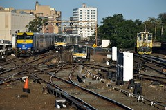 """The Route of the Dashing Commuter"" (CrispyBassist) Tags: railroad railway train track transit longislandrailroad lirr jamaica queens commuterrail"