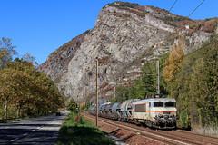7421 et sa rame Bayonne (Maxime Espinoza) Tags: 7200 7421 fret sncf ep1 bayonne st jean de maurienne pontamafrey coke train wagon marchandises