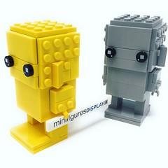 Lego BrickHeadz Monochrome (Lego Minifigures Frame) Tags: minifigures legominifigures brickheadz lego