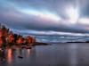 Lets have a Dynamic Morning (BigWhitePelican) Tags: helsinki finland lauttasaari morning sea suomenlahti sunrise clouds canoneos70d adobelightroom6 niktools 2017 october
